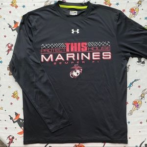 Under Armour United States Marines t-shirt S